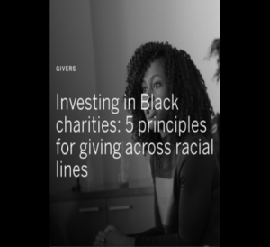 Investing in Black Charities
